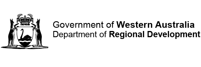 Department of Regional Development logo